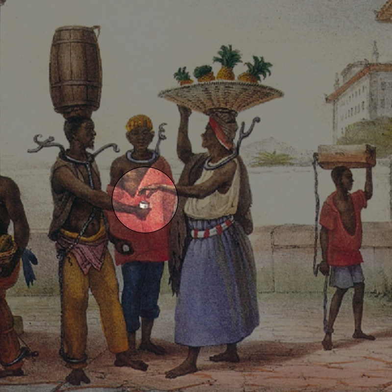 Punishment Imposed on the Negroes, Jean-Baptiste Debret (1816-1831)
